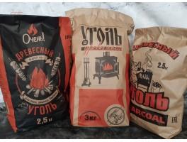 Поступление!!! Уголь для шашлыка 5.80р. за 2.5 кг.
