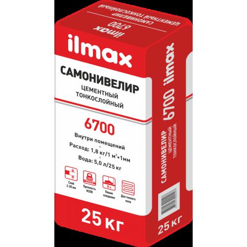 Самонивелир тонкослойный Ilmax 6700  (2….25мм.)