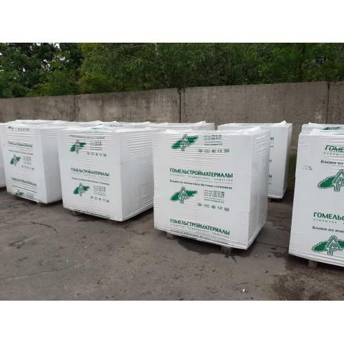 Блоки газосиликатные на клей 1кат. 600*200*400