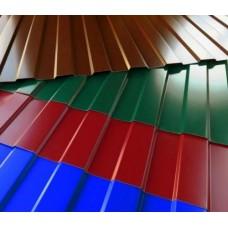 Металопрофиль (забор,ворота,крыша)  любой цвет